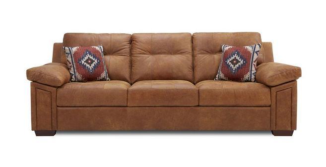 Romana 3 Seater Sofa Choice of Colours  Leather - 100 Leather sofa