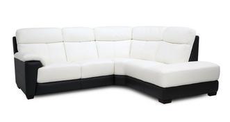 Romano Option A Left Hand Facing Arm 2 Piece Corner Sofa