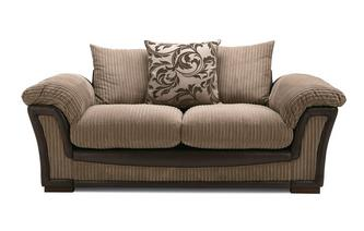 Pillow Back Large 2 Seater Sofa Inception