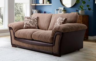 Ronnie Formal Back Large 2 Seater Deluxe Sofa Bed Inception