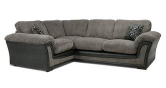Ronnie Formal Back Right Hand Facing 2 Seater Corner Sofa