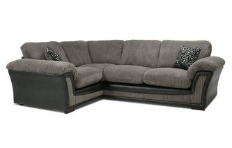 Formal Back Right Hand Facing 2 Seater Corner Sofa Roxy