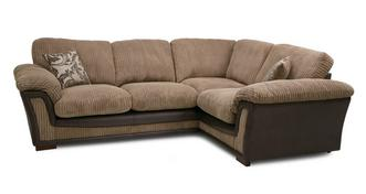 Ronnie Formal Back Left Hand Facing Deluxe Corner Sofa Bed