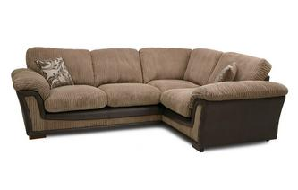 Formal Back Left Hand Facing Deluxe Corner Sofa Bed Inception