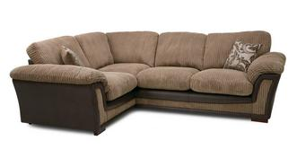 Ronnie Formal Back Right Hand Facing  Deluxe Corner Sofa Bed