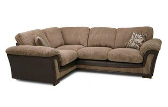 Formal Back Right Hand Facing  Deluxe Corner Sofa Bed Inception