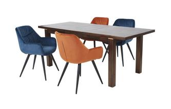 Extending Dining Table & 4 Linda Chairs