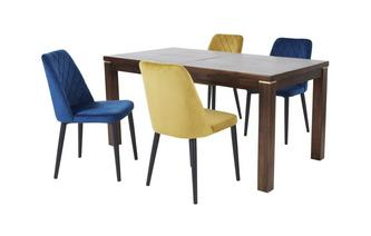 Extending Dining Table & 4 Shane Chairs