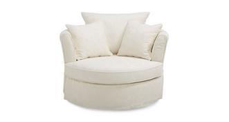 Rosa Large Cuddler Swivel Chair