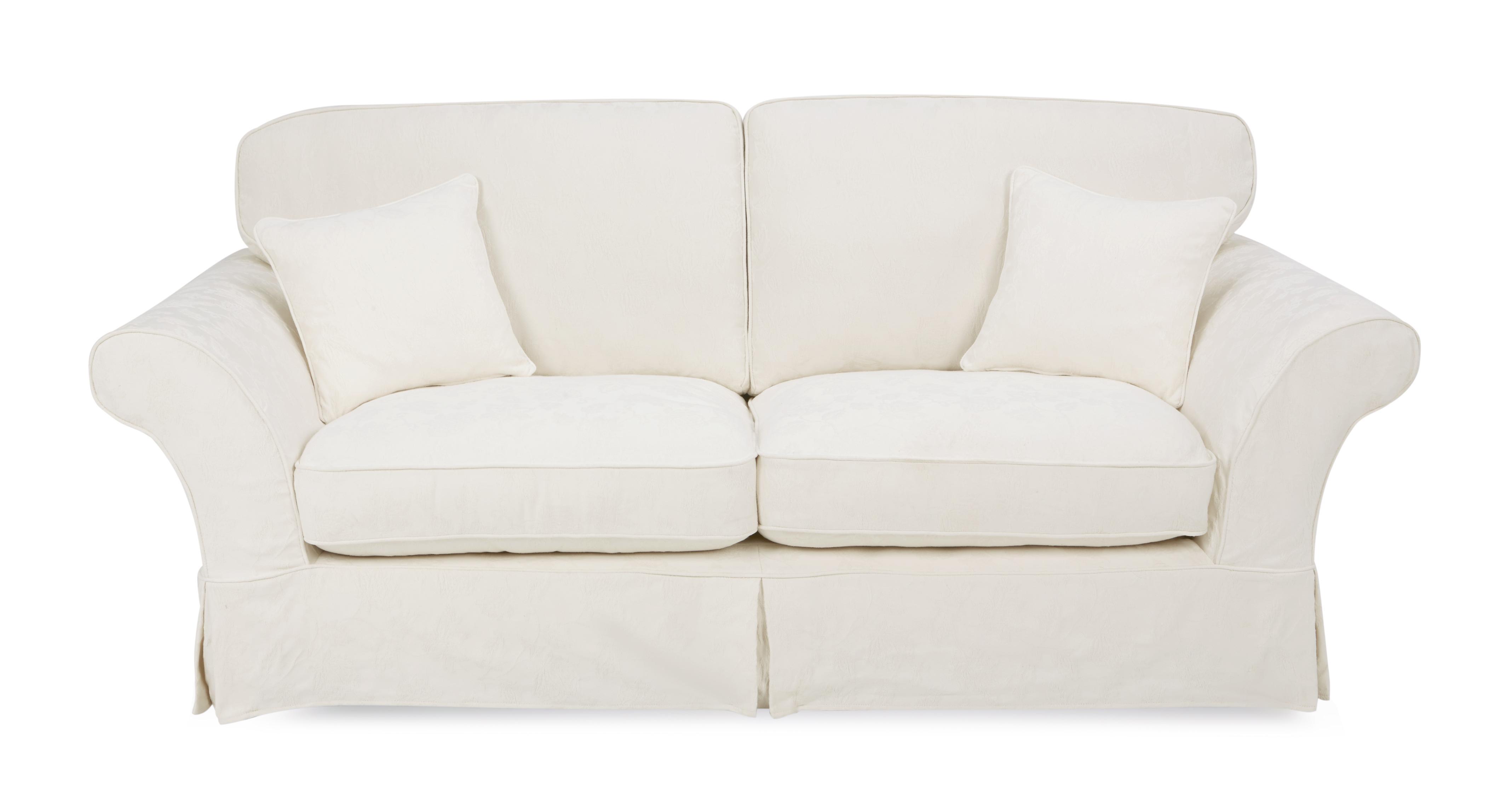 Rosa 3 Seater Formal Back Sofa