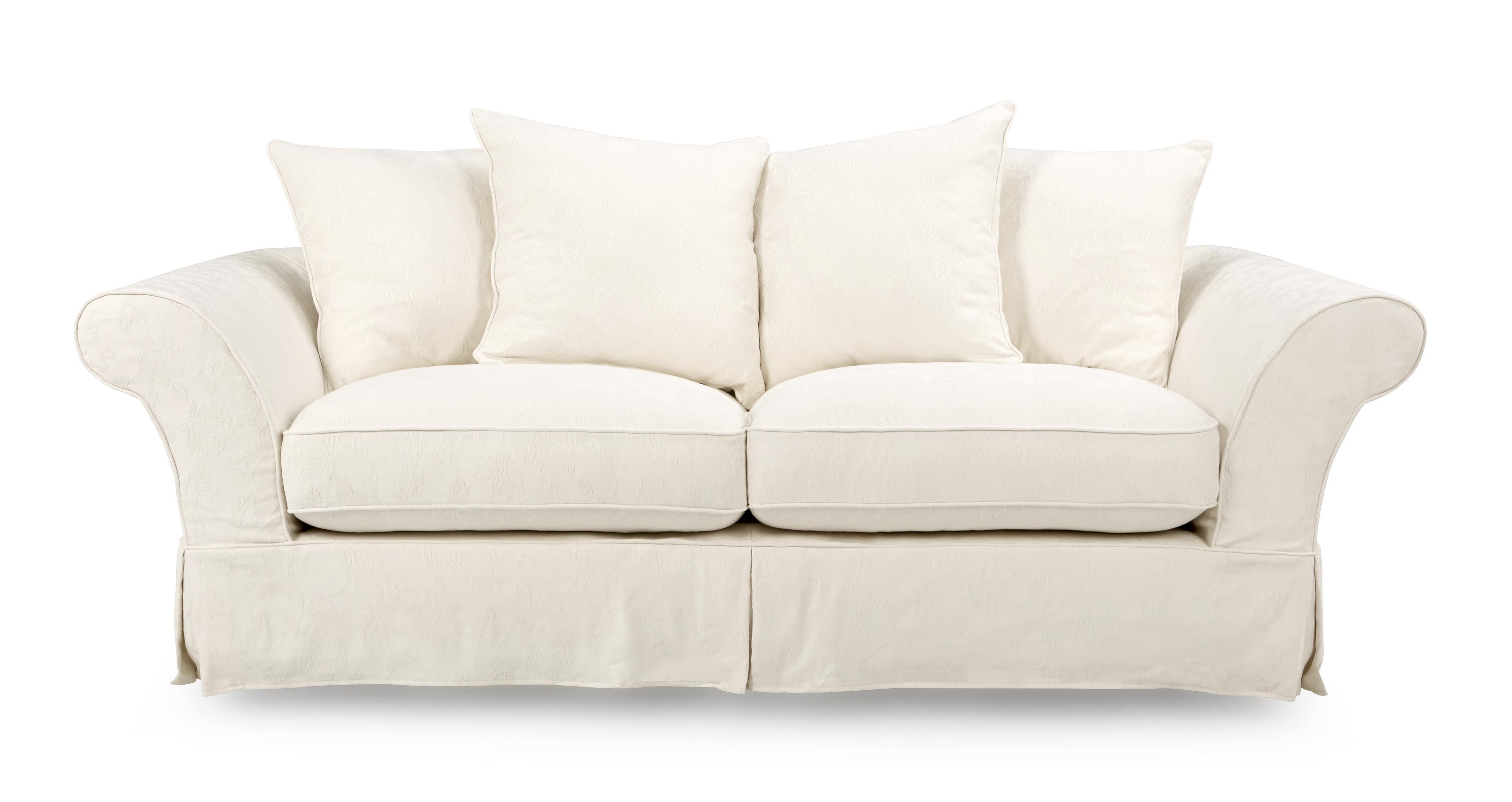 Rosa Sofa rosa 3 seater pillow back sofa dfs