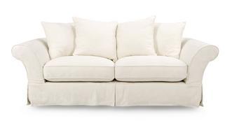 Rosa 3 Seater Pillow Back Sofa