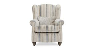 Rosetti Stripe Wing Chair