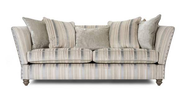 Rosetti 4 Seater Sofa with Studs