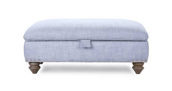Rosetti Large Storage Footstool with Studs
