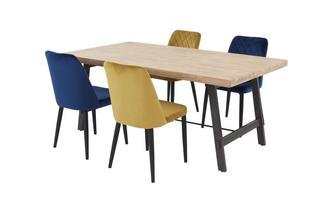 Dining Table & 4 Shane Chairs