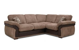 Formal Back Left Hand Facing 2 Seater Corner Sofa
