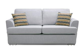 3 Seater Removable Arm Minky