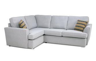 Right Hand Facing 2 Seater Corner Sofa Minky