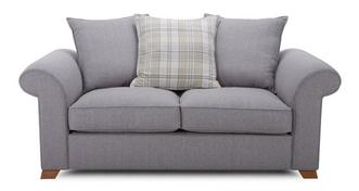Rupert 2 Seater Pillow Back Sofa Bed
