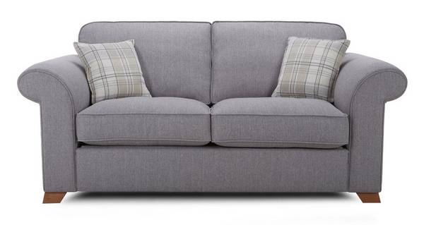 Rupert 2 Seater Formal Back Deluxe Sofa Bed