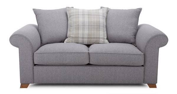 Rupert 2 Seater Pillow Back Deluxe Sofa Bed