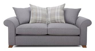 Rupert 3 Seater Pillow Back Sofa