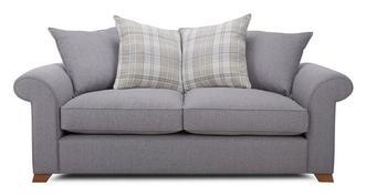 Rupert 3-zits sofa losse rugkussens