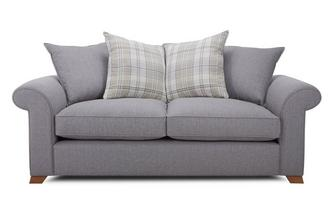 3 Seater Pillow Back Sofa Rupert