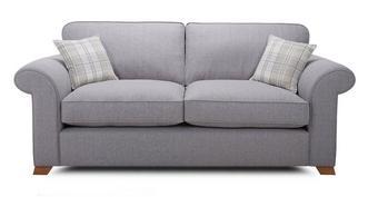 Rupert 3-zits Deluxe sofabed met vaste rugkussens