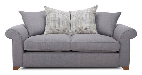 Rupert 3 Seater Pillow Back Deluxe Sofa Bed