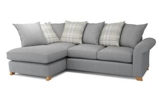 Right Arm Facing Pillow Back Corner Sofa