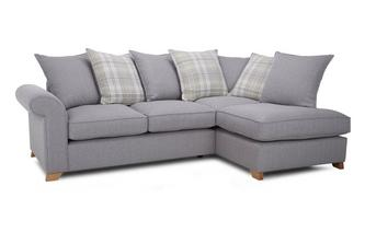 Left Arm Facing Pillow Back Corner Deluxe Sofa Bed Rupert