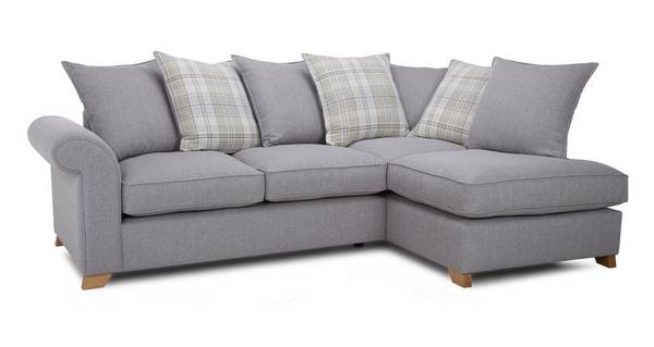 Rupert Left Arm Facing Pillow Back Corner Deluxe Sofa Bed