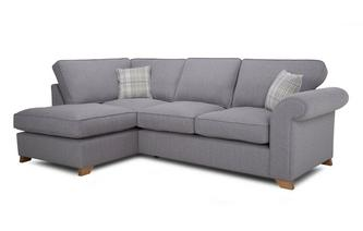 Right Arm Facing Formal Back Corner Sofa Bed