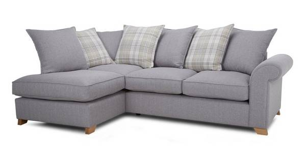 Rupert Right Arm Facing Pillow Back Corner Deluxe Sofa Bed