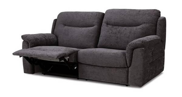 Rushton 3-zitter handbediende recliner