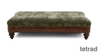 Ruskin Large Rectangular Footstool
