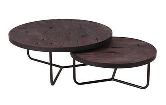 Set van 2 salontafels
