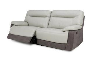 3-zitter handbediende recliner Bacio Vellutato