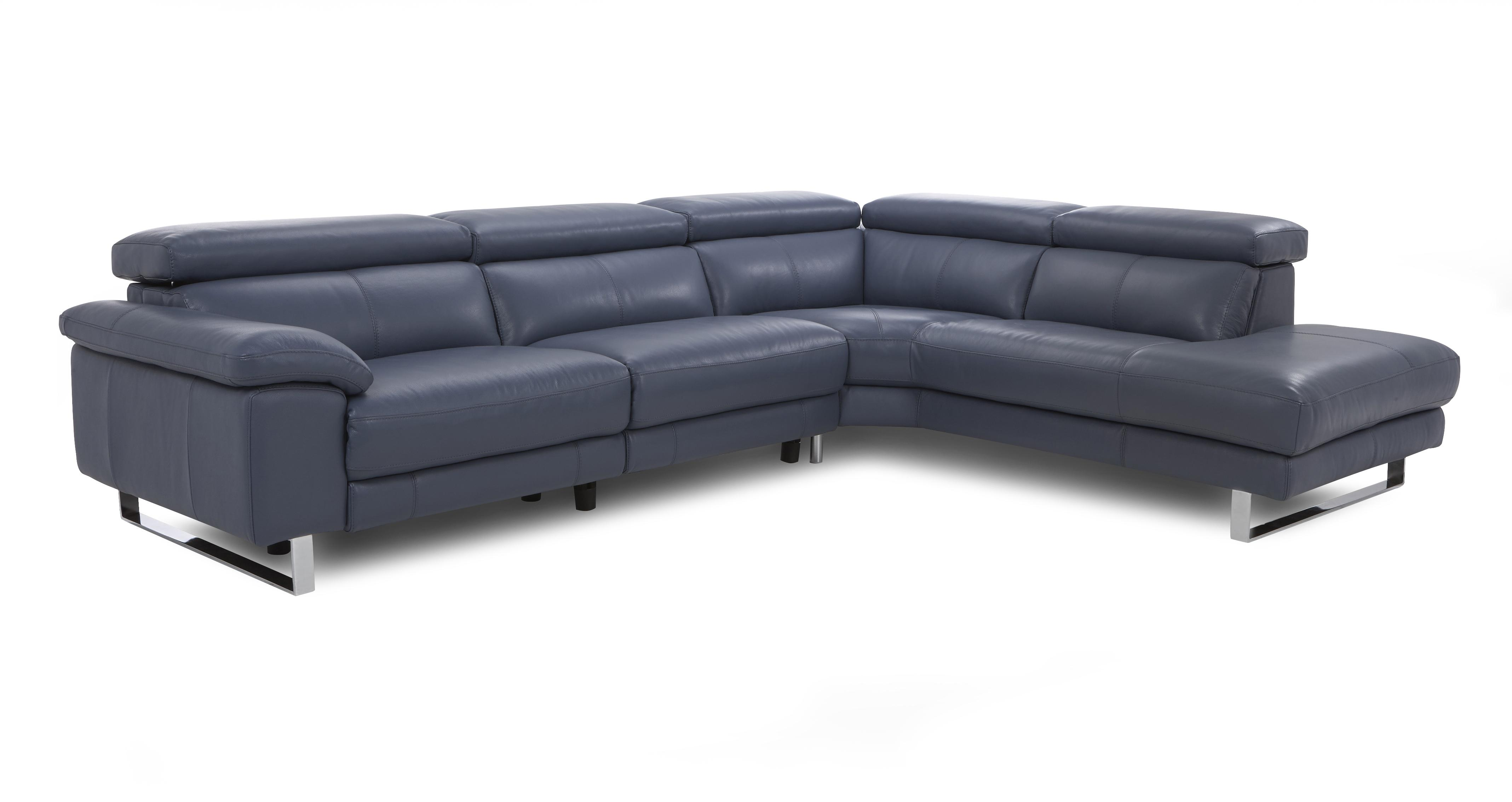Salone Option A Left Arm Facing Corner Sofa New Club