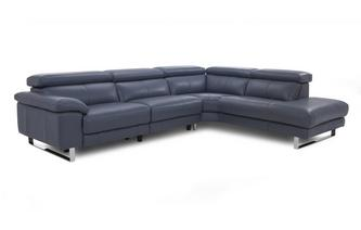 Salone Option A Left Arm Facing Corner Sofa New Club