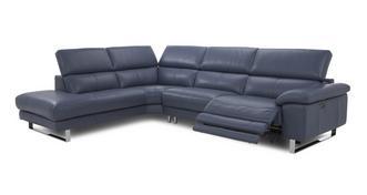 Salone Optie D Rechtszijdige elektrische recliner hoekbank