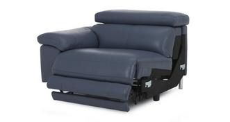 Salone Left Arm Facing 1 Seater Power Recliner Unit