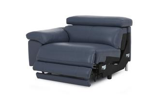 Left Arm Facing 1 Seater Power Recliner Unit New Club