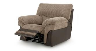 Samson Handbediende recliner stoel