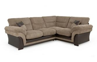 Left Hand Facing 2 Seater Corner Sofa Samson