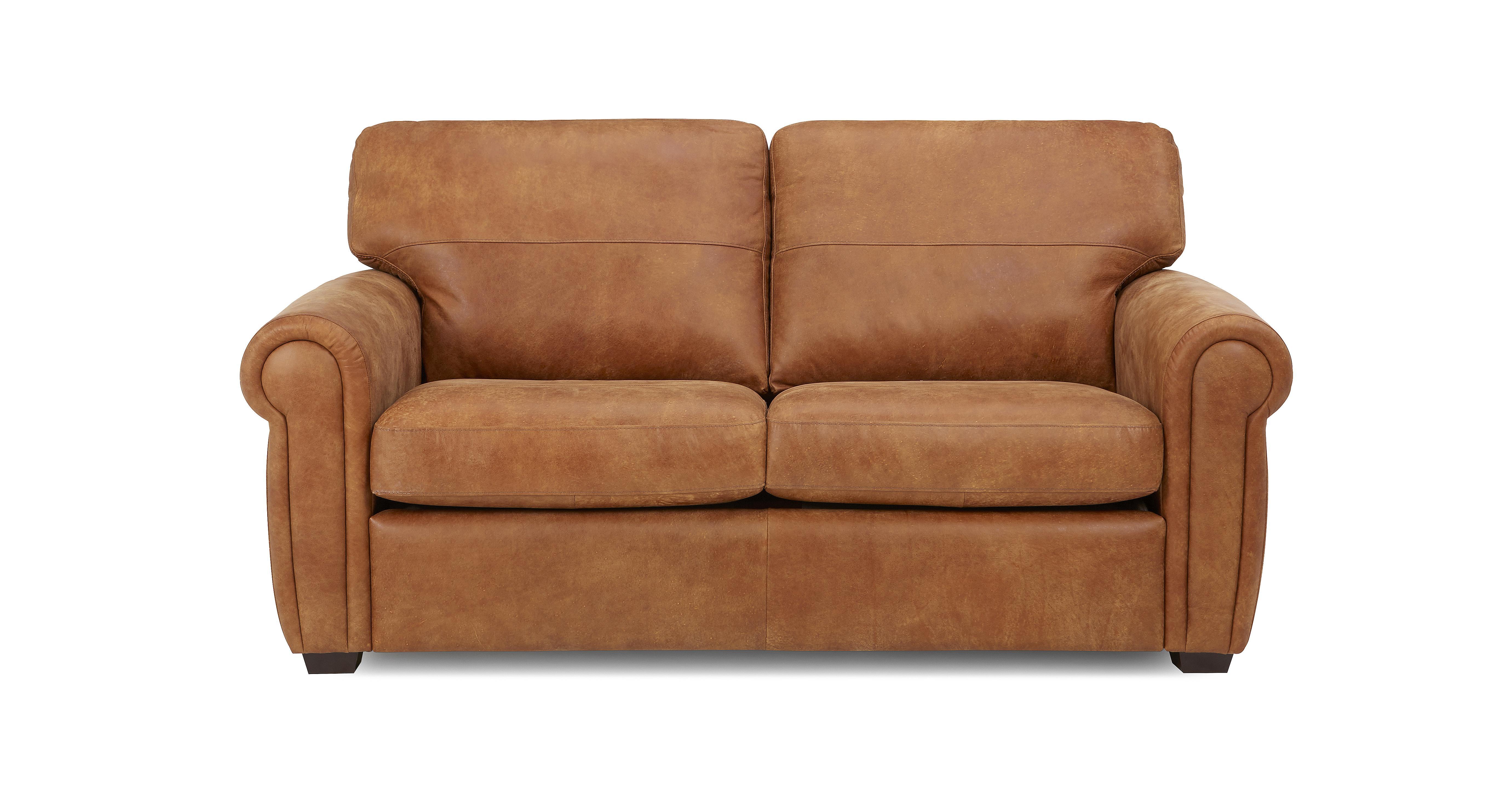 Sanchez groot 2 zits deluxe slaapbank saddle dfs banken - Sofa stijl jaar ...