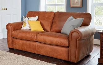 Sanchez Large 2 Seater Deluxe Sofabed Saddle