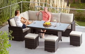San Jose Sofa Set PU Rattan